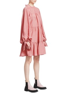 3.1 Phillip Lim Oversized Tiered Gathered Dress