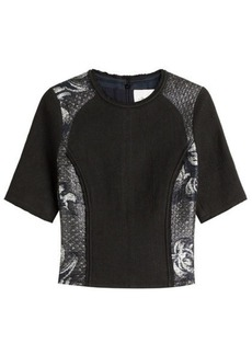 3.1 Phillip Lim Woven Panel Top