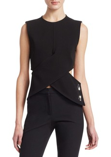 3.1 Phillip Lim Wrap Cut Out Top