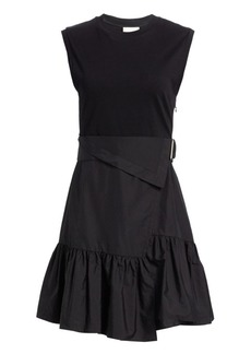 3.1 Phillip Lim Wrap-Effect Belted Tee Dress