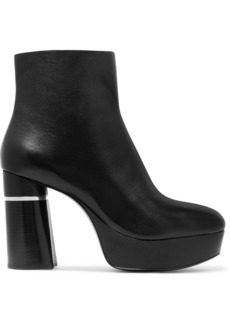 3.1 Phillip Lim Ziggy Leather Ankle Boots