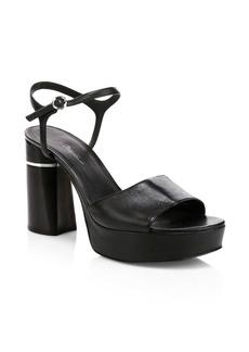3.1 Phillip Lim Ziggy Leather Platform Sandals
