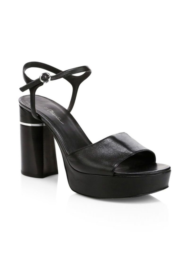 25122972eb8 Ziggy Leather Platform Sandals