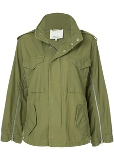 3.1 Phillip Lim Zippered Field Jacket