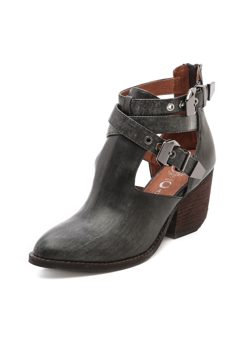 jeffrey campbell jeffrey campbell everwell cutout booties shoes shop it to me. Black Bedroom Furniture Sets. Home Design Ideas