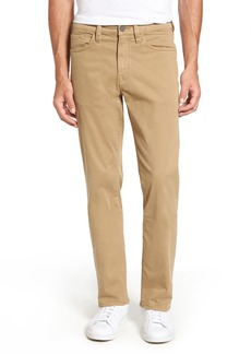 34 Heritage 'Charisma' Classic Relaxed Fit (Khaki Twill) (Online Only) (Regular & Tall)