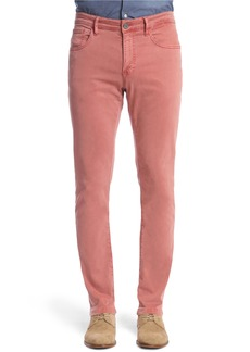 34 Heritage Charisma Relaxed Fit Twill Pants (Brick)