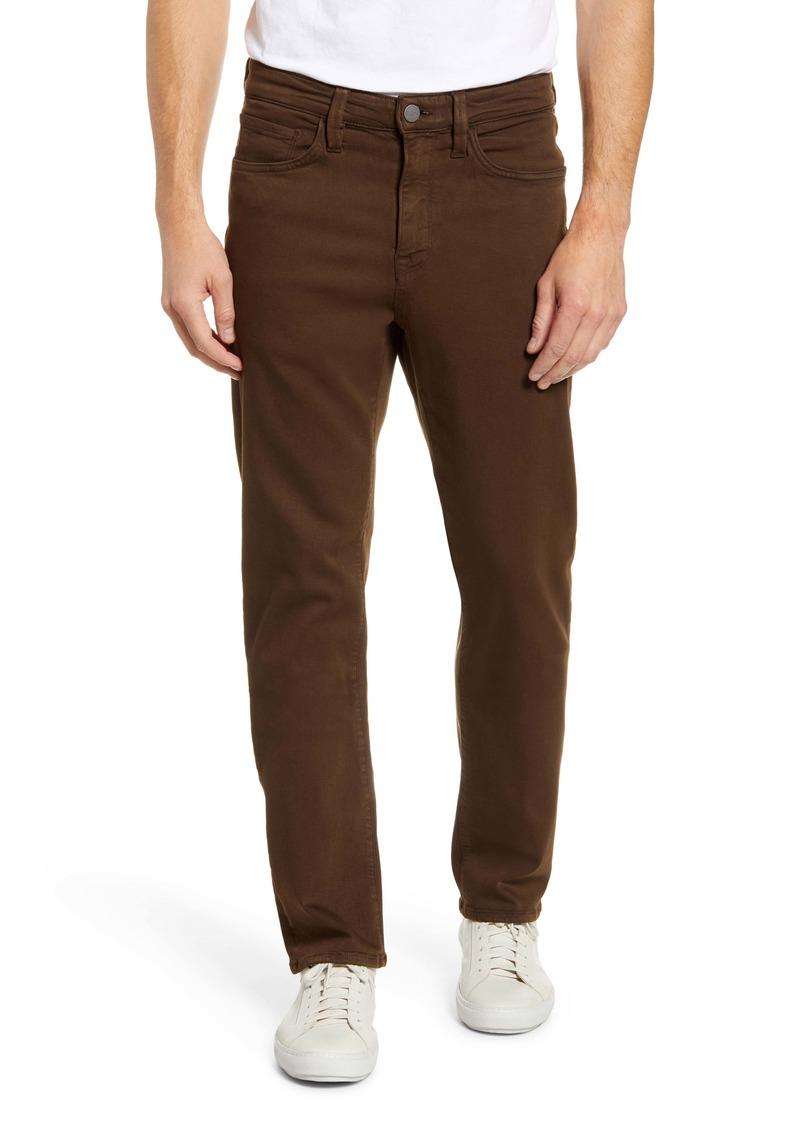34 Heritage Comfort Slim Straight Leg Jeans (Brown Comfort)