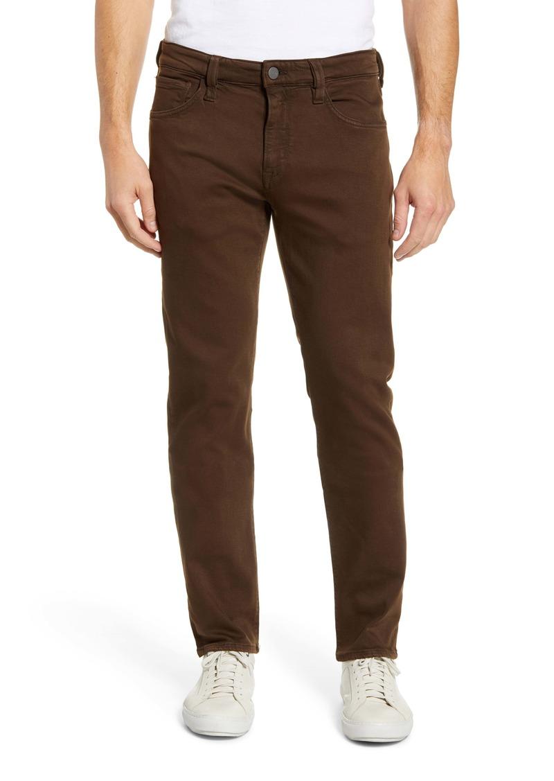 34 Heritage Courage Slim Leg Jeans (Brown Comfort)