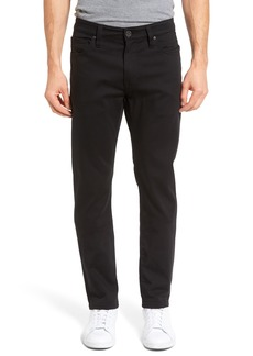 34 Heritage Courage Straight Leg Jeans (Double Black)