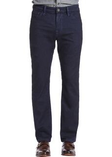 34 Heritage Courage Straight Leg Jeans (Indigo Brushed)