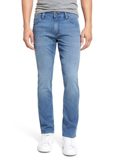34 Heritage 'Courage' Straight Leg Jeans (Light Indigo Sporty)