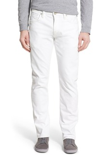 34 Heritage 'Courage' Straight Leg Jeans (White)