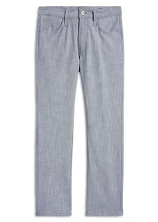 34 Heritage Courage Straight Leg Stretch Chambray Pants