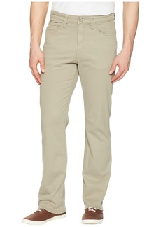 34 Heritage Charisma Relaxed Fit in Khaki Fine Twill