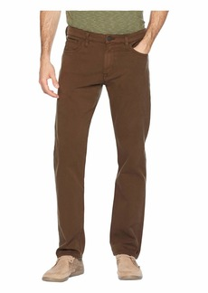 34 Heritage Courage Straight Fit in Brown Fine Twill