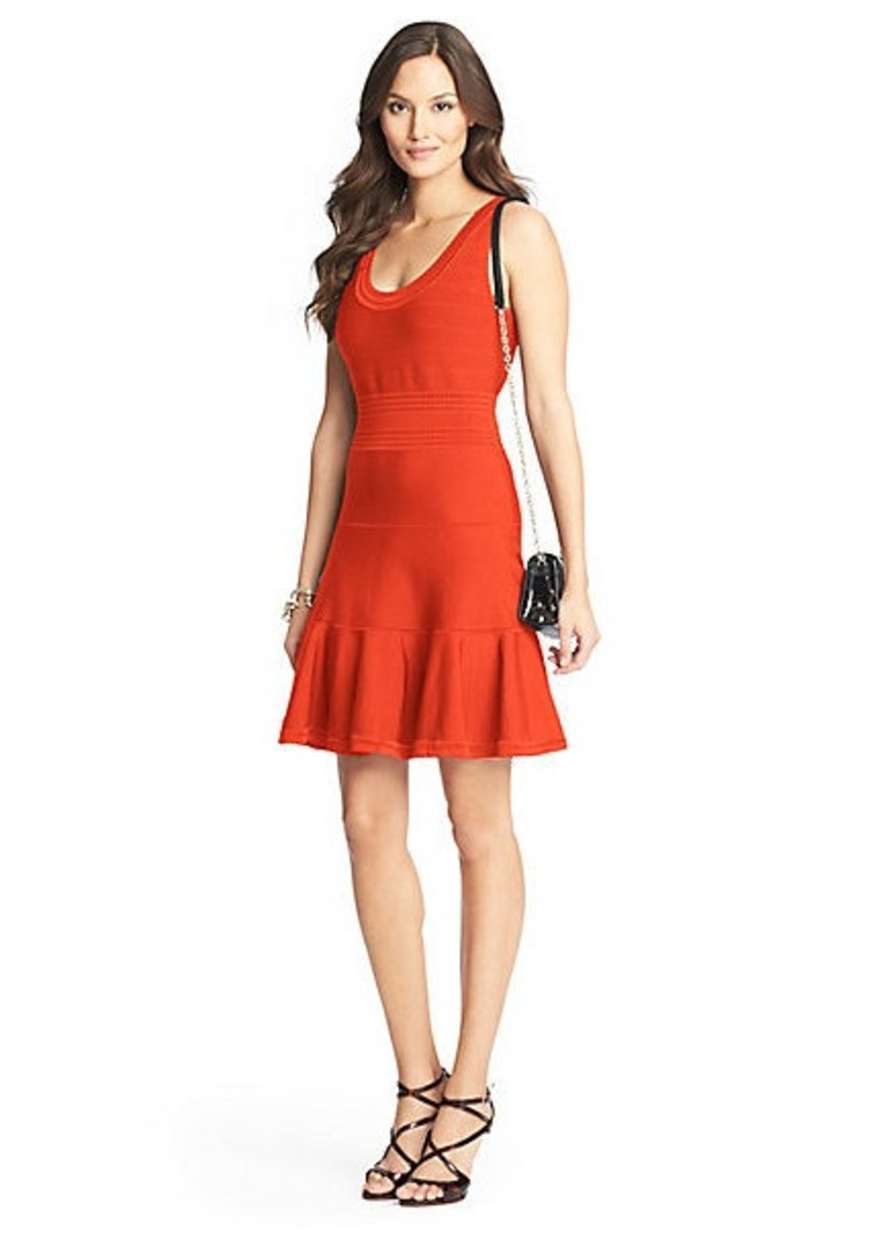 Diane Von Furstenberg Perry Knit Flared Dress