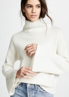 360 Cashmere 360 SWEATER Lulu Cashmere Turtleneck Sweater