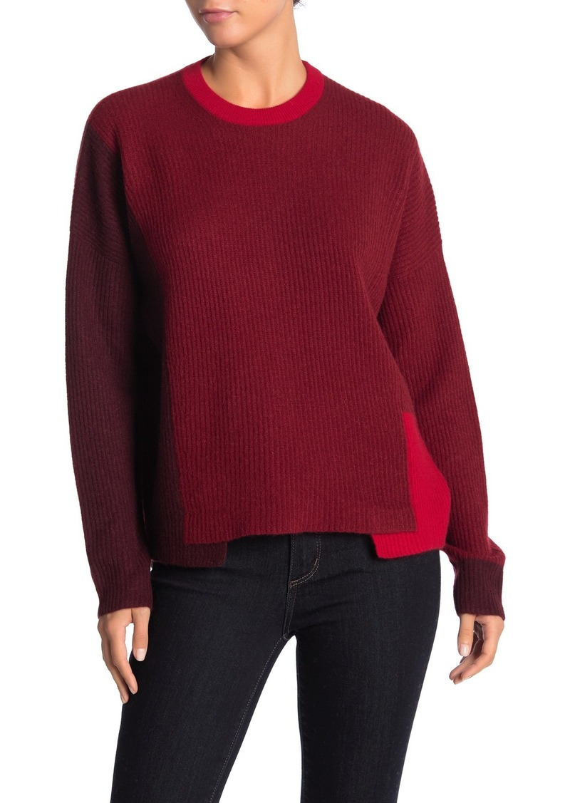 Akima Colorblock Cashmere Sweater