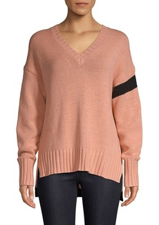 360 Cashmere Barbara High-Low Sweater