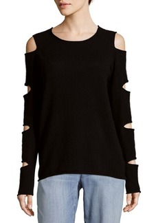 360 Cashmere Cashmere Slash Top