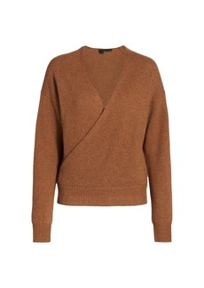 360 Cashmere Cassian Cashmere Wrap Sweater