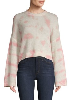 360 Cashmere Cropped Cashmere Sweater