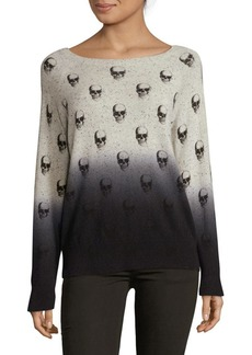 360 Cashmere Dip Dye Cashmere Pullover