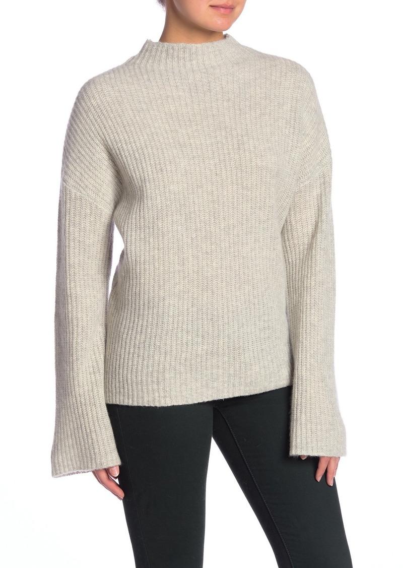 360 Cashmere Doris Mock Neck Cashmere Sweater