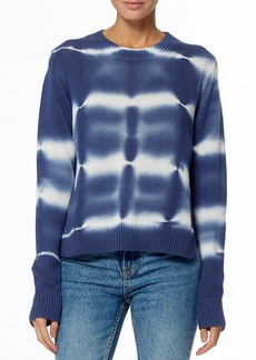 360 Cashmere Jasper Tie-Dye Print Pullover