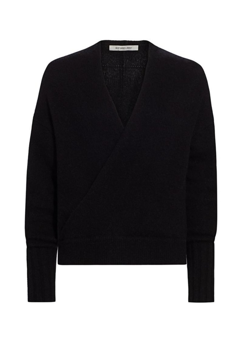 360 Cashmere Karlie Merino Wool & Cashmere Wrap Sweater