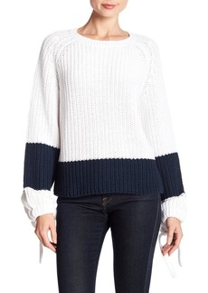 360 Cashmere Lilah Colorblock Stripe Sweater