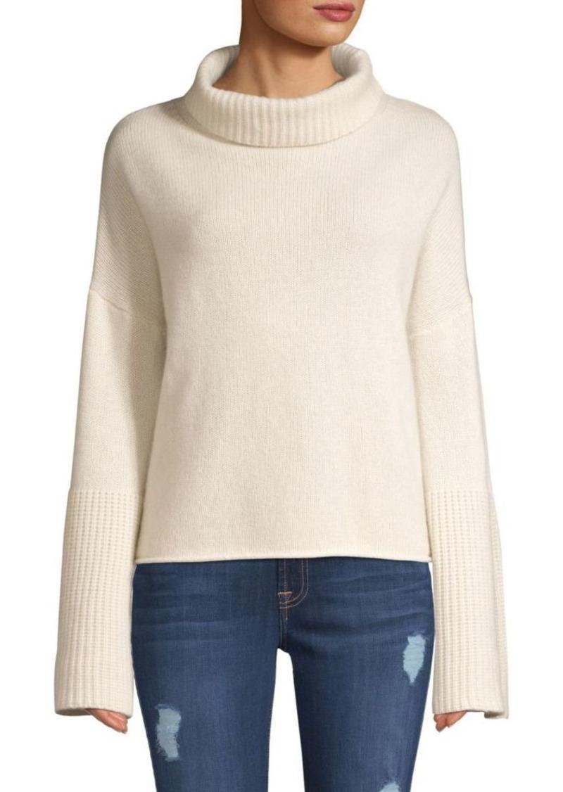 6d539aae737 Lulu Bell Sleeve Turtleneck Sweater