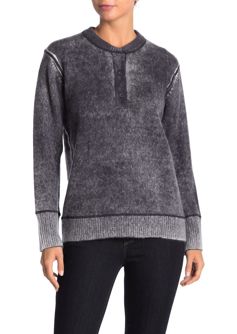 360 Cashmere Marion Henley Cashmere Sweater