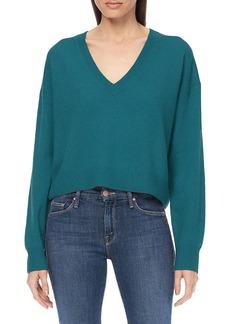 360 Cashmere Niomi Cropped Cashmere Sweater