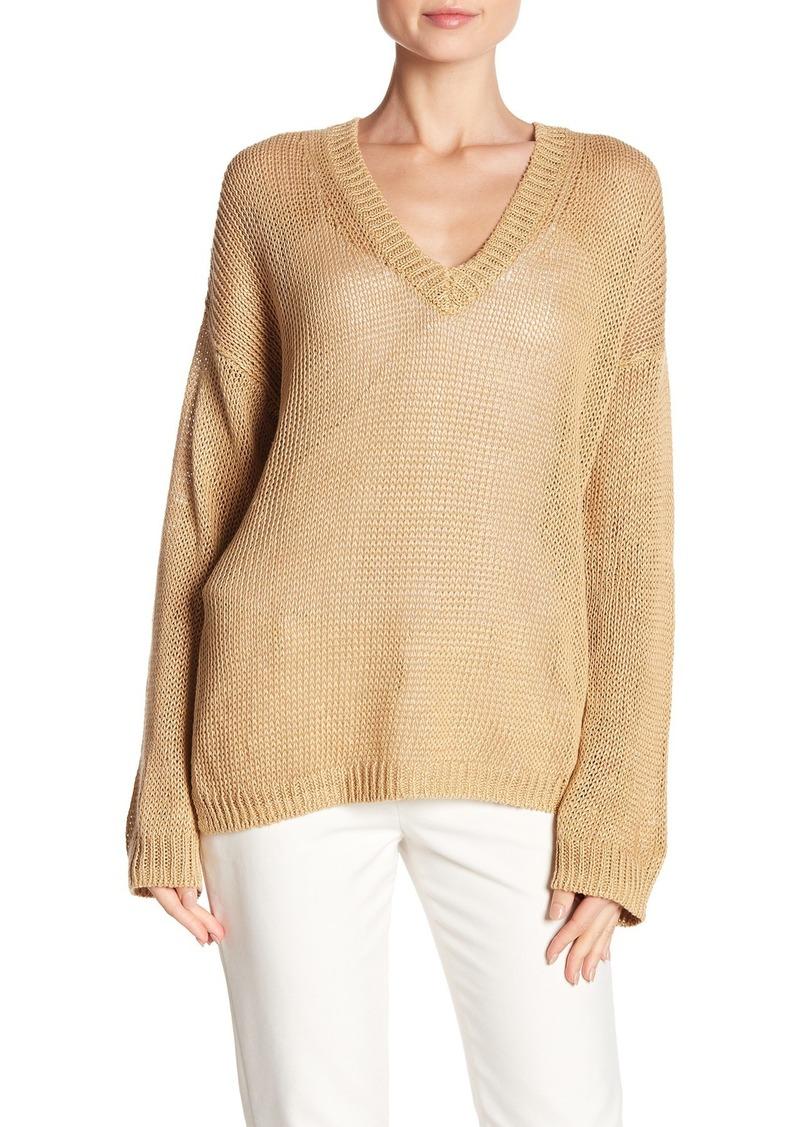 360 Cashmere Noelle Linen Sweater