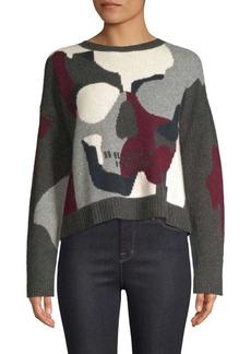 360 Cashmere Serrano Skull Cashmere Sweater