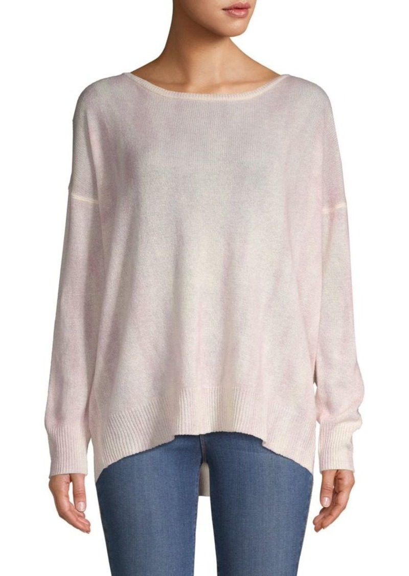 360 Cashmere Tie-Dyed Cashmere Sweater