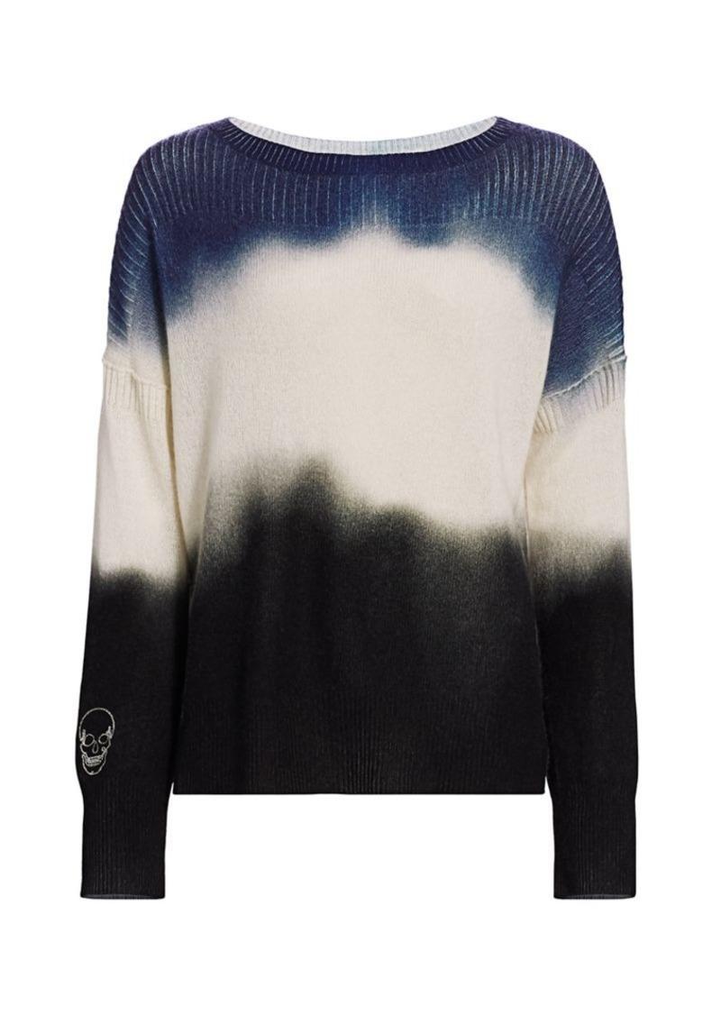 360 Cashmere Zane Ombre Cashmere Sweater
