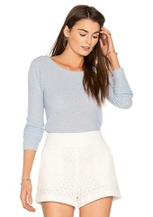 360 Cashmere 360 Sweater Ambrielle Cashmere Sweater in Blue. - size M (also in S,XS)