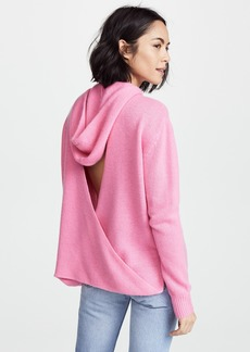 360 SWEATER Bow Hooded Sweater