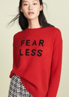 360 Cashmere 360 SWEATER Fear Less Cashmere Sweater