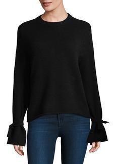 360 Cashmere Erika Bow Sleeve Sweater