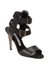 Manolo Blahnik Dubena Double Ankle-Strap Sandals