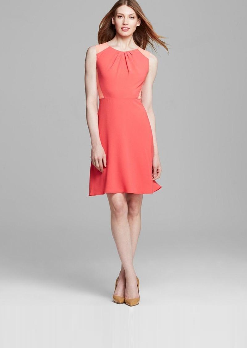 Elie Tahari Rosario Color Block Dress
