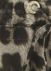 MICHAEL Michael Kors Animal-print chiffon mini skirt