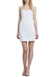 Diane Von Furstenberg Sahara Strapless Ring Eyelet Dress   Sahara Strapless Ring Eyelet Dress