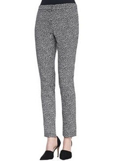 Lela Rose Caroline Straight-Leg Pants