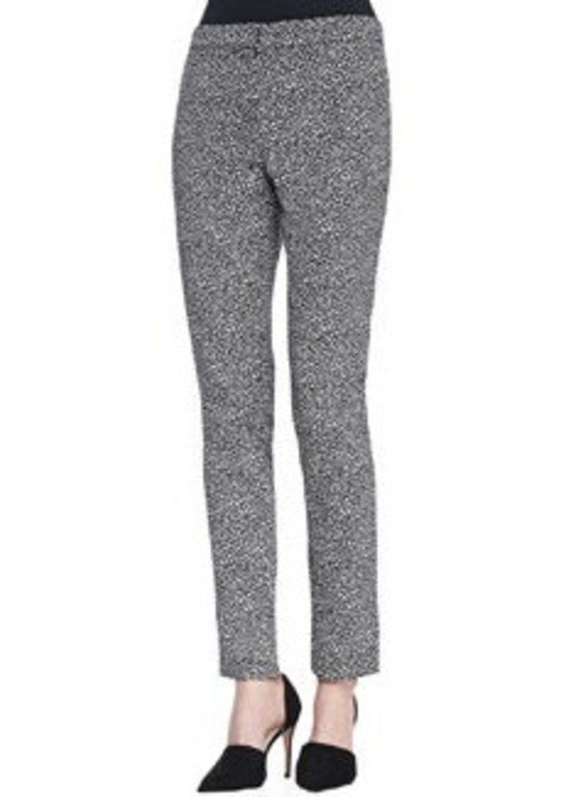 Lela Rose Caroline Straight-Leg Pants