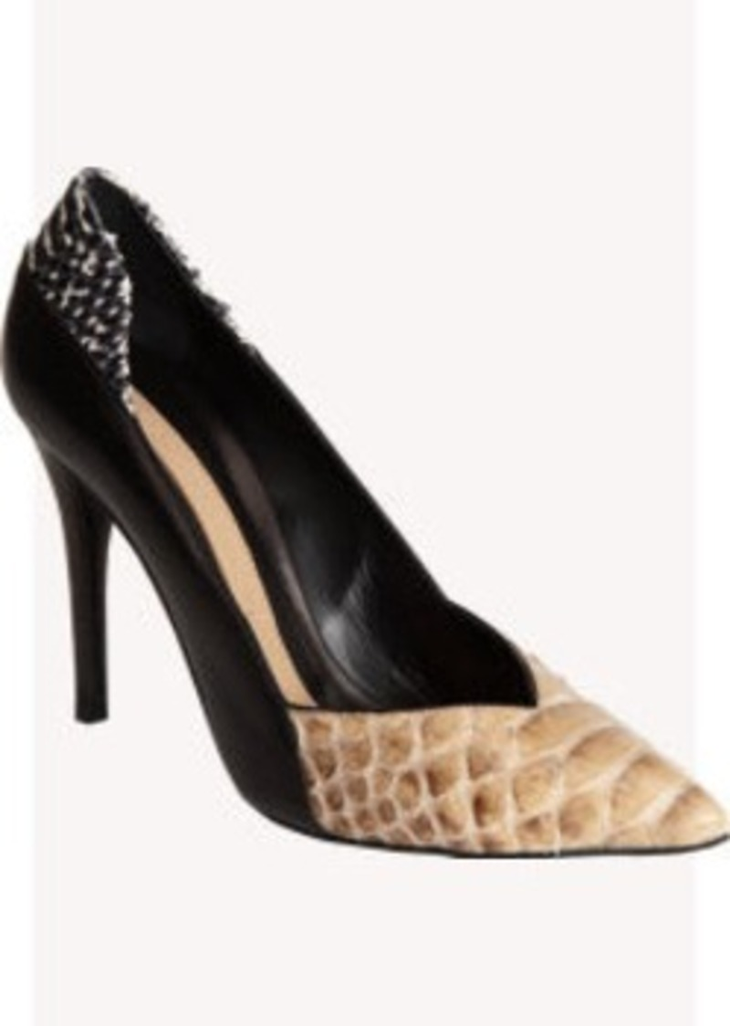 Narciso Rodriguez Python Pointed Toe Pump